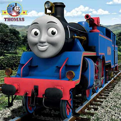Play free fun childrens Jigsaw puzzle Belle Thomas the tank engine games online for boys 9 pieces