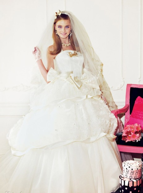 Barbie inspired wedding dresses gowns 2012 wedding for How to make a barbie wedding dress