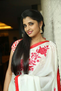 Shyamala Stills At Uttama Villain Movie Release Date Press Meet   (14).jpg