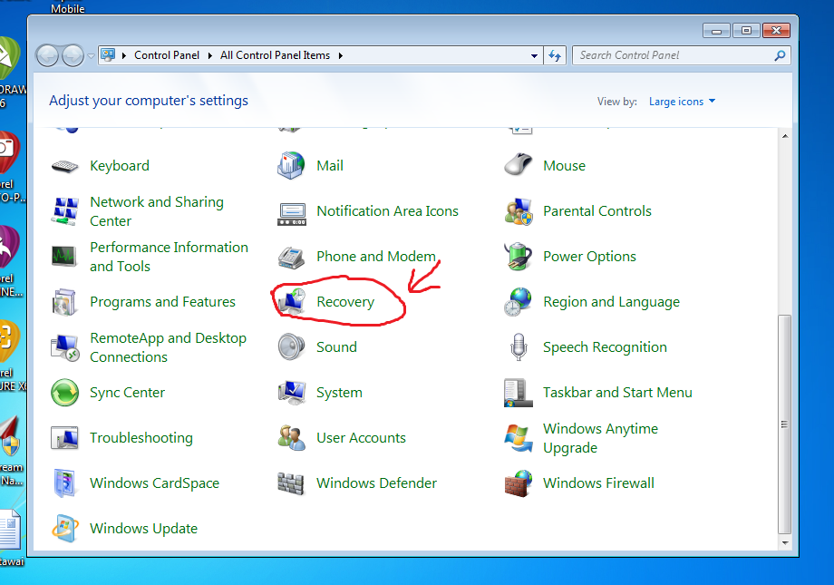 Laptop Windows 7 Welcome Terus