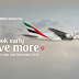 "Europe Deals: Emirates launches promotion ""Book Early, Save More"""