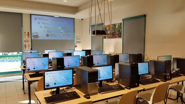 La salle de cours