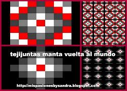 1º TEJIJUNTAS DE SANDRA - MANTA VUELTA AL MUNDO
