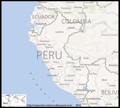 Mapa de PERU, BING