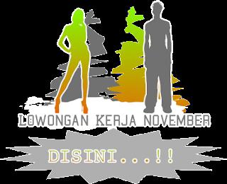Info Lowongan Kerja Marketing Bulan November 2013