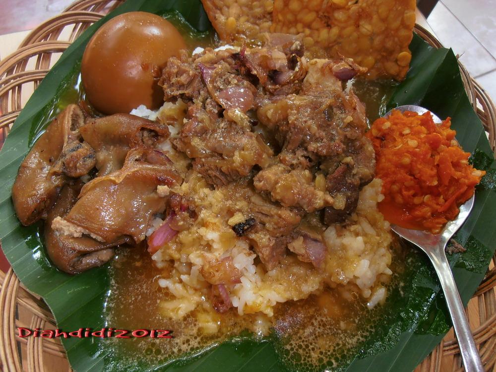 diah didi s kitchen resep nasi gandul khas pati
