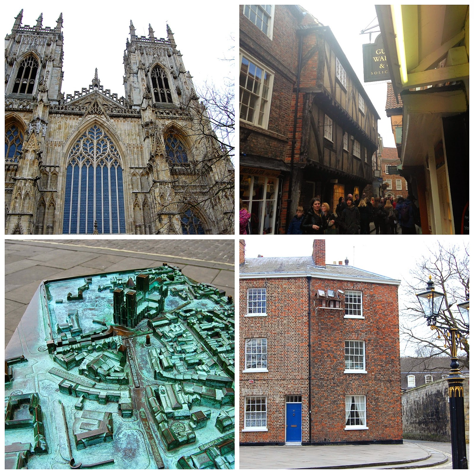 York Minster and Shambles