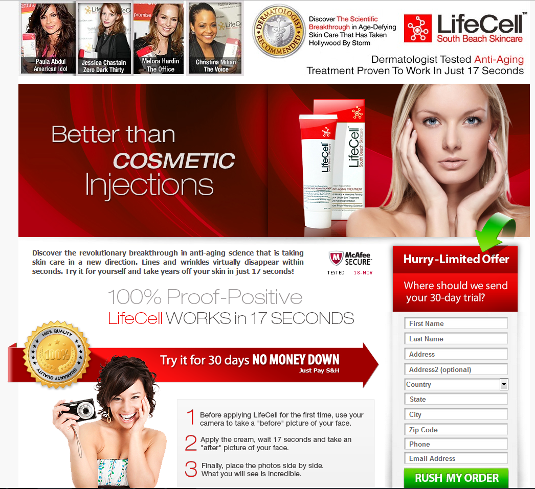 Anti Aging Beauty Products