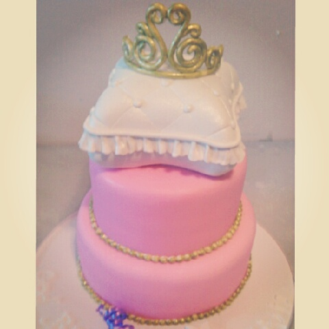 sweet cakes princess baby shower cake
