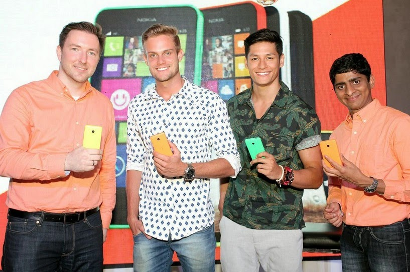 Lumia 630 will be available in different colors including bright orange, bright yellow, bright green, white and black.