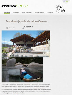 ExperienSense,Termalismo japonés sin salir de Ourense