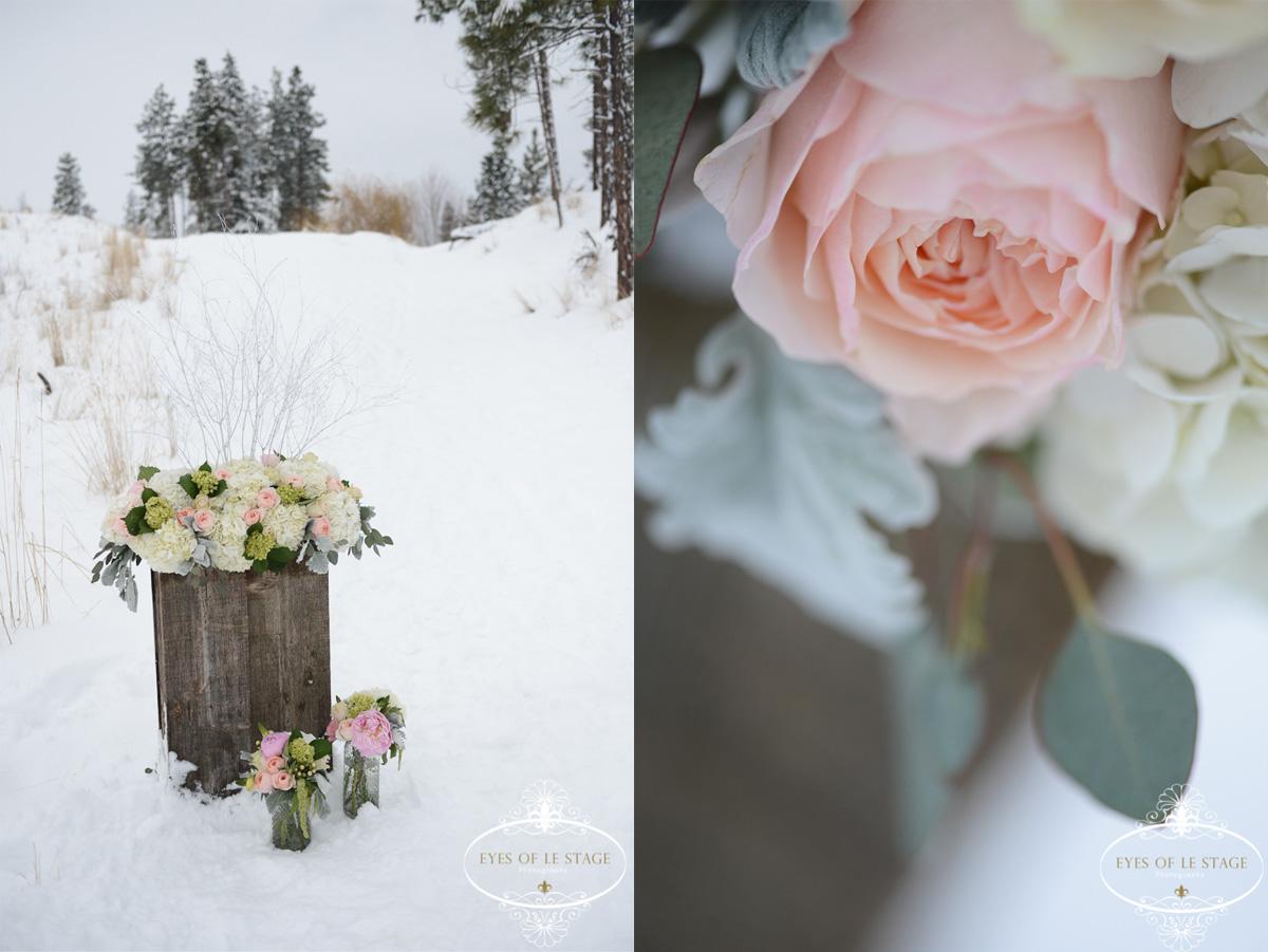 Canadian Okanagan Wedding Photographers Blog An Intimate Winter Wedding In The Snow
