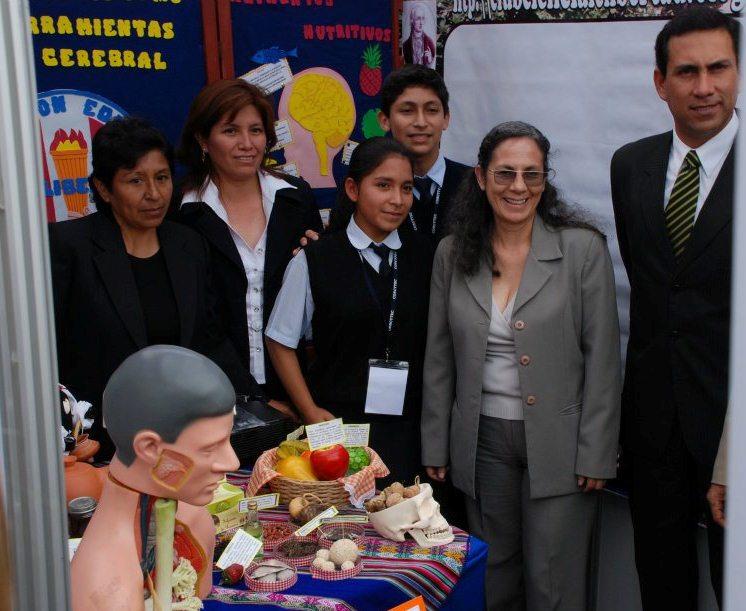 FENCYTEC 2011-MINISTRA DE EDUCACIÓN