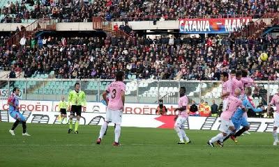 Catania Palermo 2-0 highlights