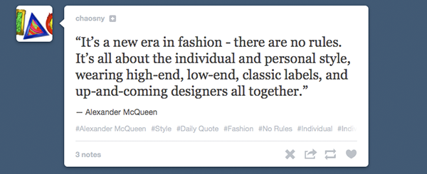 style quotes from alexander mcqueen
