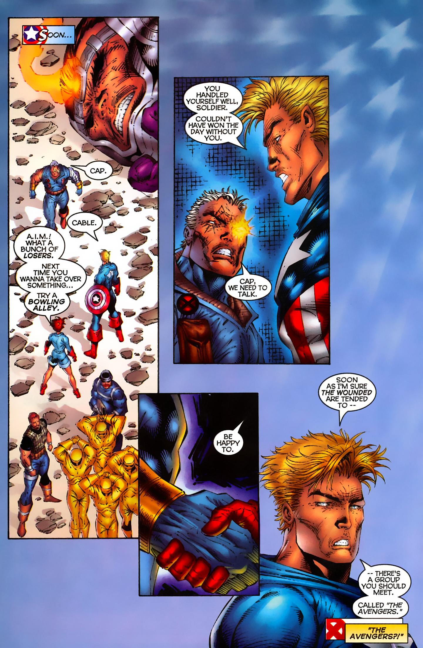 Captain America (1996) Issue #6 #6 - English 16
