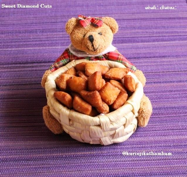 Sweet Diamond Cuts / Maida Biscuit