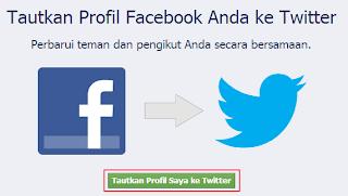 Cara Menghubungkan Facebook Dengan Twitter