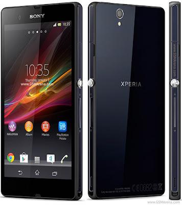 sony xperia Z harga dan spesifikasi terbaru, hp android 5 inci dari sony, quad core phablet sony xperia