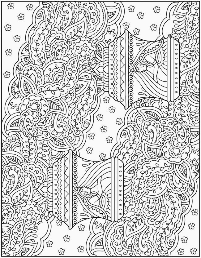 Complex Colouring Pages : Fun coloring pages for adults