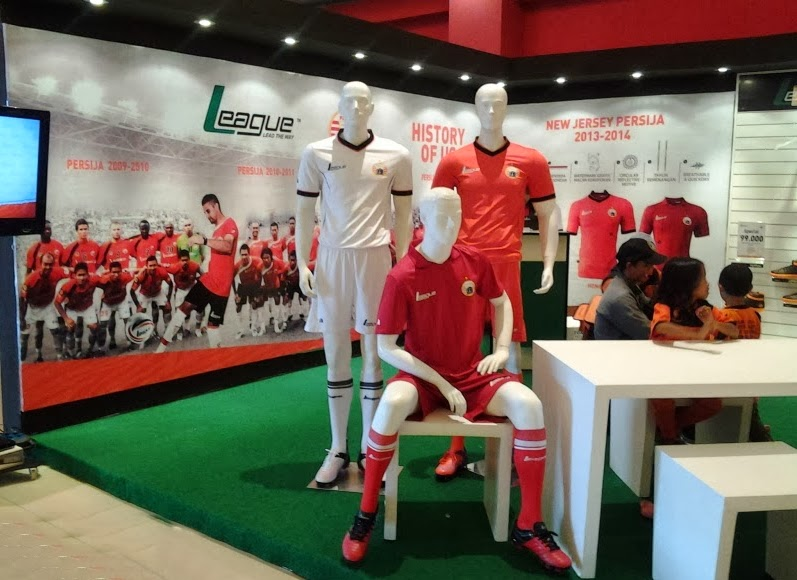 Harga Jersey Liga Indonesia Persija 2014