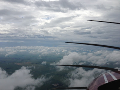 Fly Girl in Training: Interpreting weather data and understanding VFR conditions