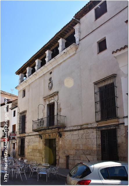 casa Don Pedro Flores de la Oliva, Yepes
