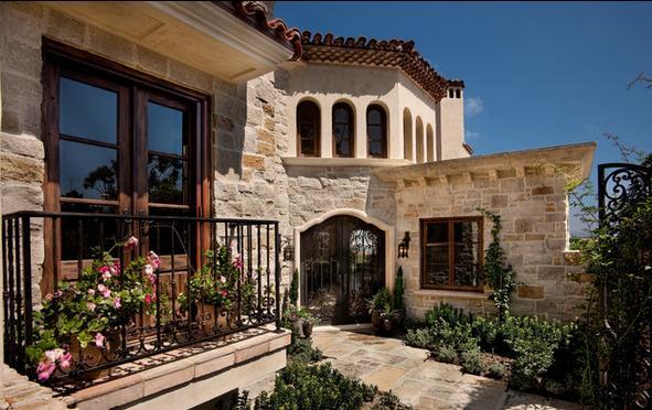 Fachadas casas modernas fachadas de casas bonitas con balc n for Fachadas de casas rusticas sencillas