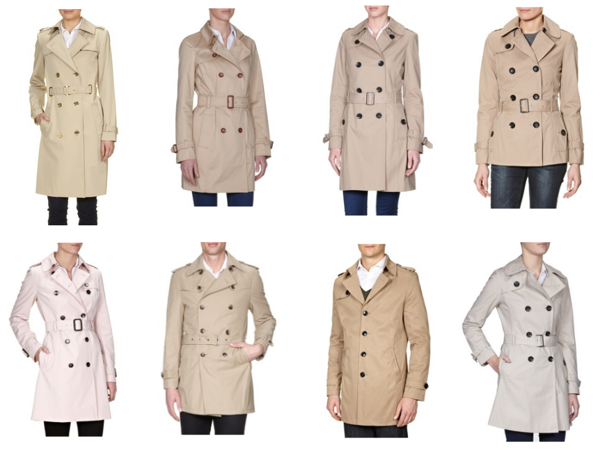 Trench coat, Trenchcoat, Fashion ID