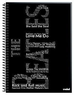Caderno The Beatles All Type Credeal