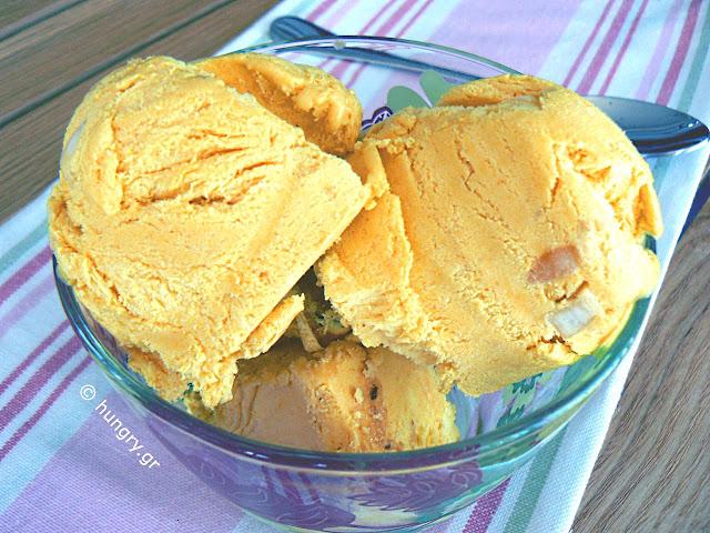 Παγωτό Παρφέ με Κουρκουμά