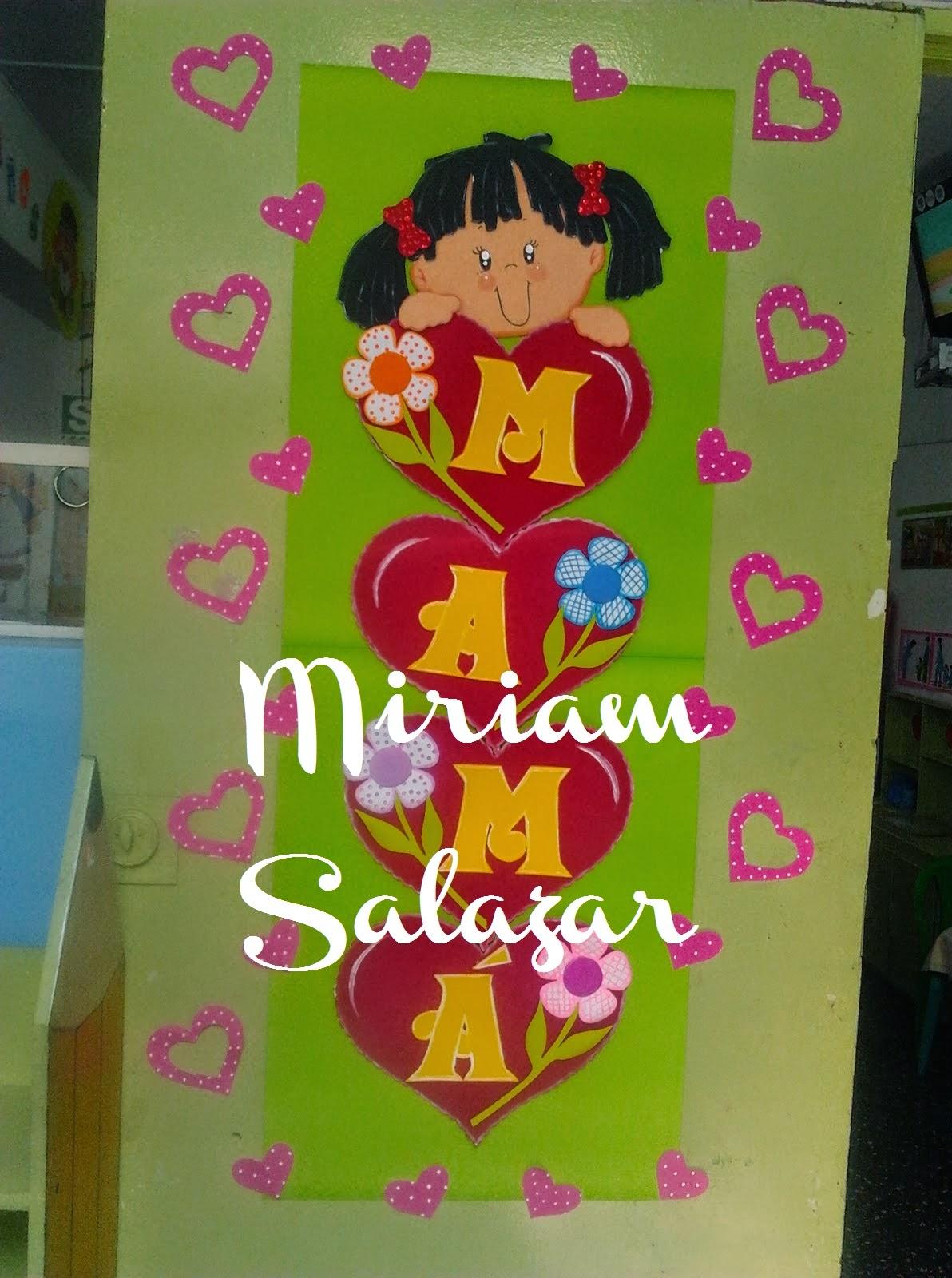 Recursos para educaci n inicial carteles de ambientaci n - Decoracion para el dia de la madre ...