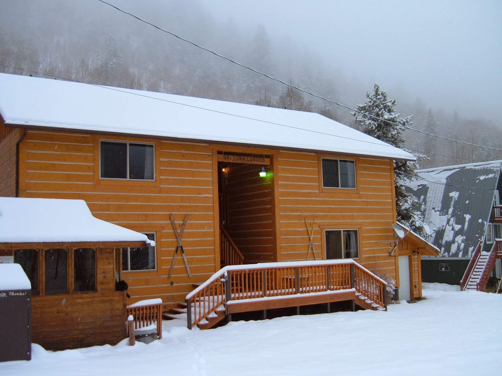 Winter colorado vacation packages monarch and salida for Winter cabin rentals colorado