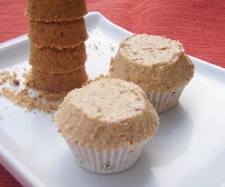 Polvoron Cupcakes