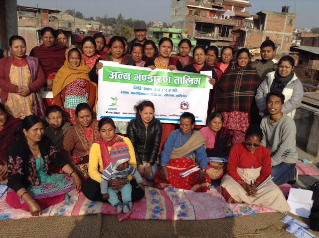 seed-storage-nepal-training