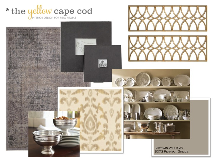 The Yellow Cape Cod Kathis Perfect Greige Dining Room