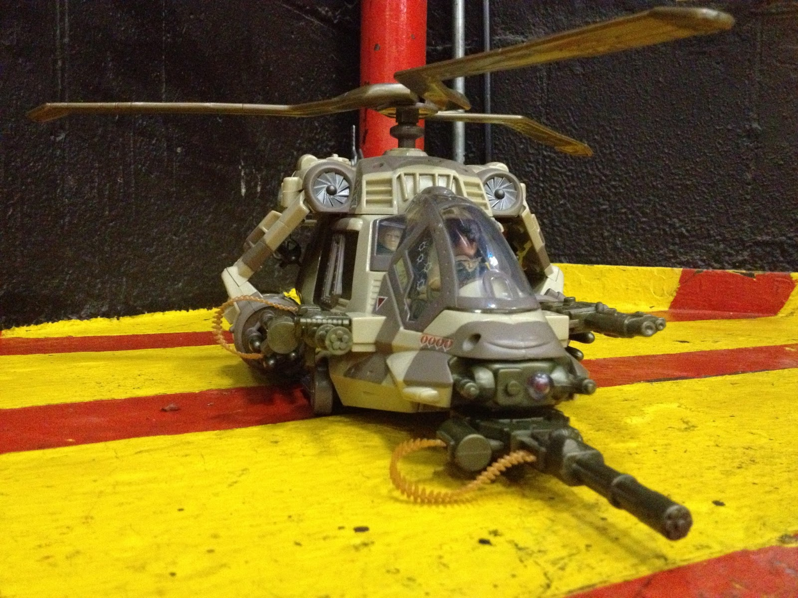 Gi joe 1983 Accessoires Hélicoptère Dragonfly Helicopter Accessory missiles