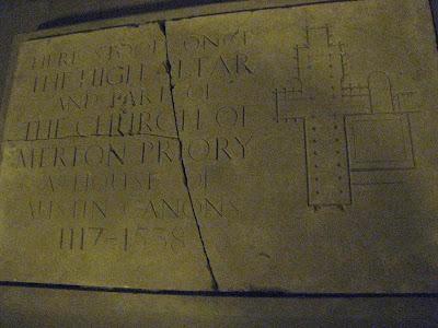 Merton Priory Stone