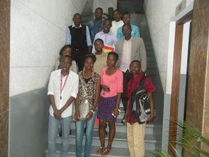 Amigos da Oficina de História no Archivo Histórico de Mocambique
