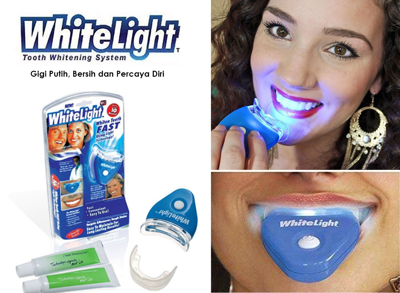 Gigi Putih Dalam 10 Menit Whitelight Teeth Whitening Jual