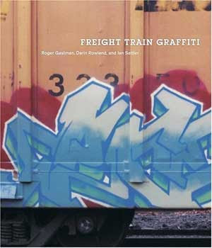 Freight train graffiti alphabet