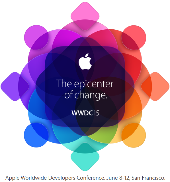Apple's WWDC 2015 Official Logo