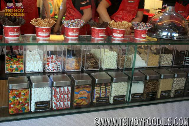 cold stone mix ins