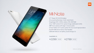HP Xiaomi Mi Note Pro
