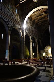 San Miniato Florence Italy Gregorian Chant basilica church interior