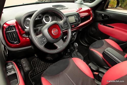 Mopar Fiat 500L Custom Interior
