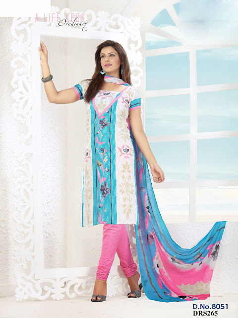 Buy Online Crepe Printed Dress Material – Exporter