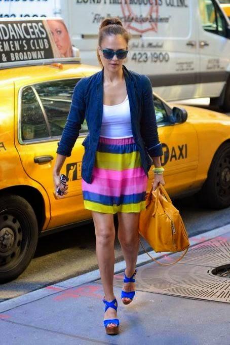แฟชั่นไอคอน Jessica Alba Style