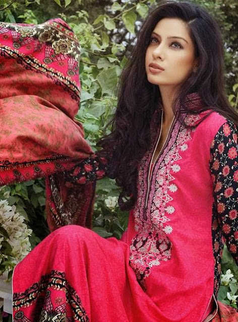 Al Karam Winter Casual Wear Dresses Collection 2013-2014