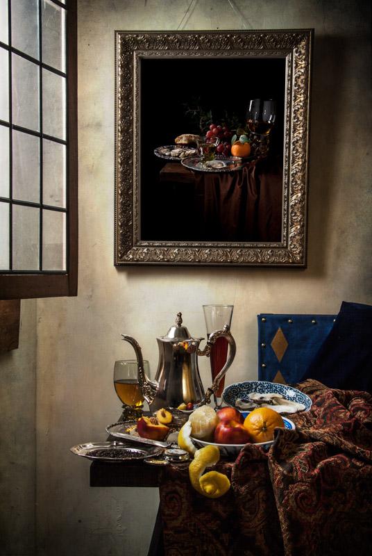 The Berkemeyer Project Vermeer As A Still Life Painter